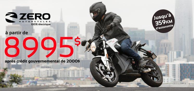 Zero Motorcycles 100% Électrique