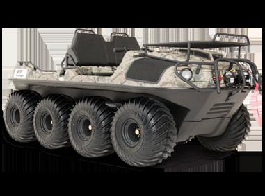 Argo Avenger 8×8 Huntmaster