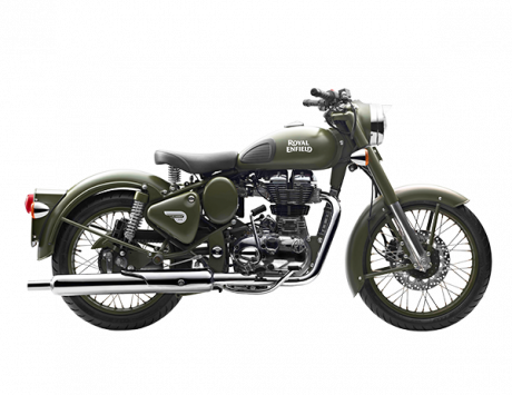 2018 Royal Enfield Battle Green