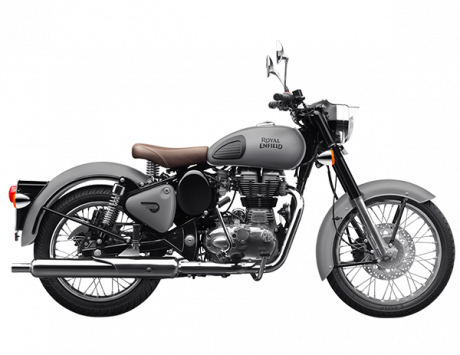2018 Royal Enfield Gunmetal Grey