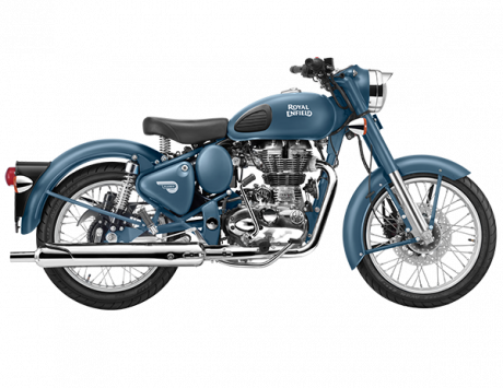 2018 Royal Enfield Squadron Blue
