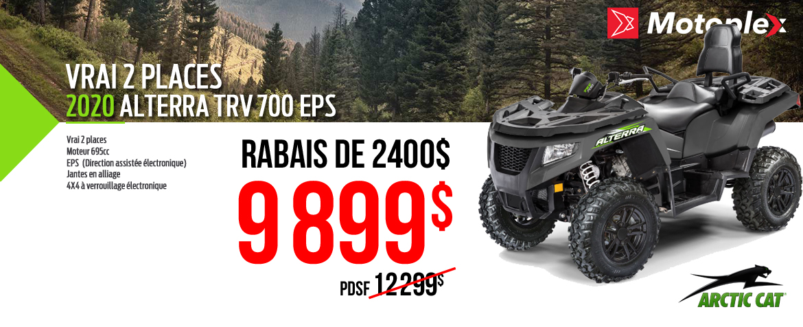 Arctic Cat TRV 700 EPS 2020